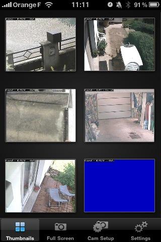 Projets domotiques dans la Maison Storck » Système de vidéo